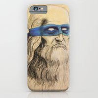 iPhone & iPod Case featuring Leo TMNT by Rachel M. Loose