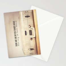 Far Better Things Ahead - Inspirational Print Stationery Cards