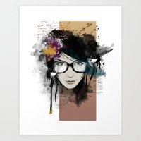 Sensacion Art Print
