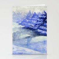 Fictional Landscape II Stationery Cards