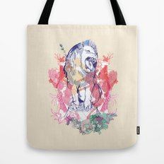 The Hitchcock Lion  Tote Bag