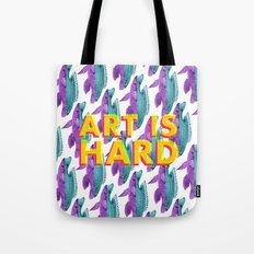 Art Is Hard - Fish Tote Bag
