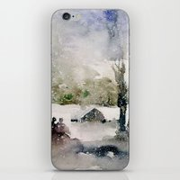 Snowy Day iPhone & iPod Skin