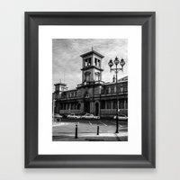 Connolly Station Framed Art Print