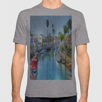 Canals Mens Fitted Tee Athletic Grey SMALL