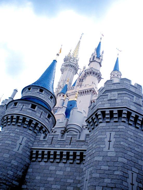 Disney Castle In Color Art Print