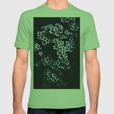 Flowers  Mens Fitted Tee Grass SMALL