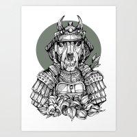 The Samurai Art Print