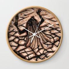 Orixás - Obaluaiê Wall Clock