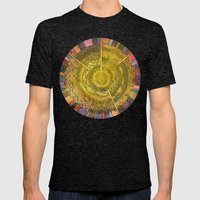 Eden's Reprise Mens Fitted Tee Tri-Black SMALL