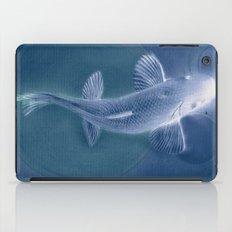 知識に歩く (Walk to Knowledge) blue iPad Case