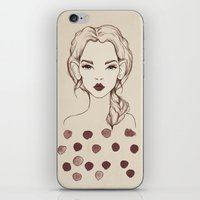 Marsala iPhone & iPod Skin