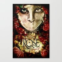 ROSE Indie Horror Poster Canvas Print