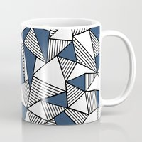 Abstraction Lines With N… Mug