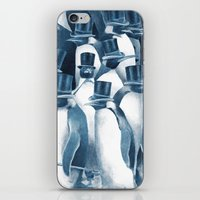 A Gathering Of Gentlemen… iPhone & iPod Skin