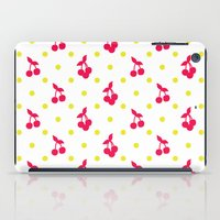 Dots And Cherries iPad Case