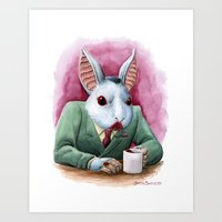 Count Fluffington, CPA Art Print