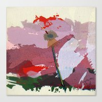 scatter, 5 Canvas Print