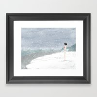 This Is Not The Time For… Framed Art Print