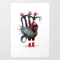 Old Beast Remake Art Print
