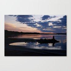 Lake Huron Sunrise Canvas Print