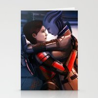 Mass Effect - Safe In Yo… Stationery Cards