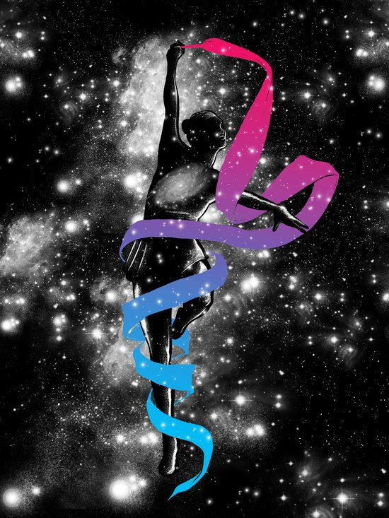 Dancing with the Stars Art Print