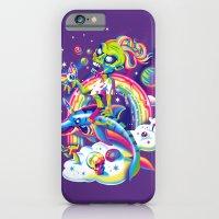 Rainbow Apocalypse iPhone 6 Slim Case