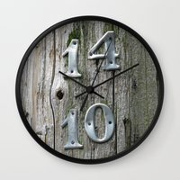 14 Over 10 Wall Clock
