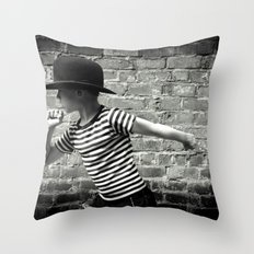 Juvenile Jazz 5 Throw Pillow
