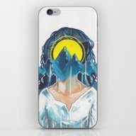 iPhone & iPod Skin featuring Mountain by Element
