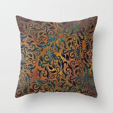 ANTIQUE PATTERN Throw Pillow