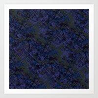 Tahitian Blue Art Print