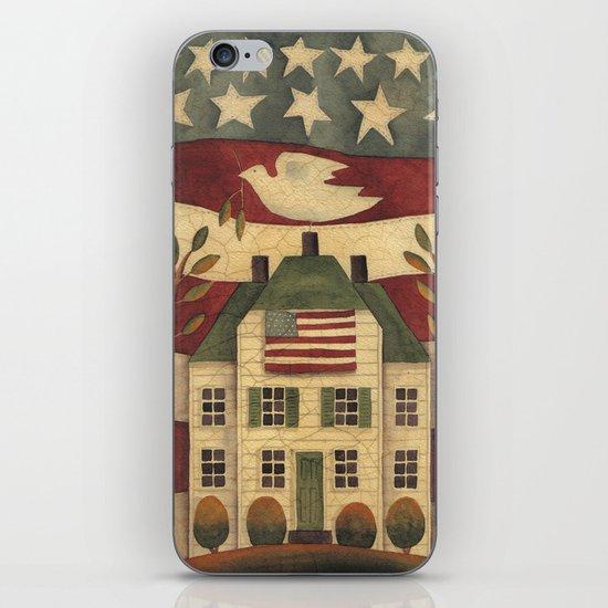 Where Freedom Dwells iPhone & iPod Skin