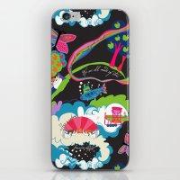 Garden of Earthly Delight iPhone & iPod Skin