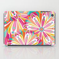 iPad Case featuring Festive Flowers by Shelly Bremmer