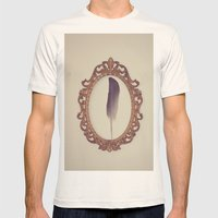 SIMPLISTIC Mens Fitted Tee Natural SMALL