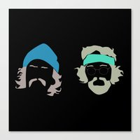 cheech and chong Canvas Print
