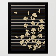 Fabric No.4 Art Print
