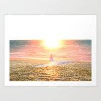 Sail dream Art Print