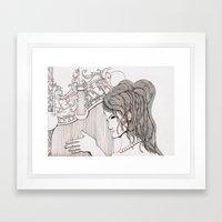 Harp Framed Art Print