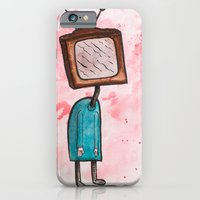 TV Head iPhone 6 Slim Case