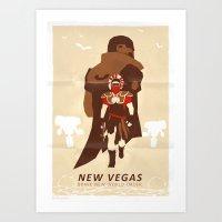 New Vegas Art Print