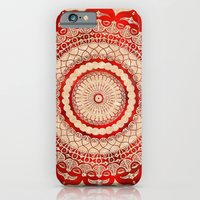 omulyána red gallery mandala iPhone 6 Slim Case