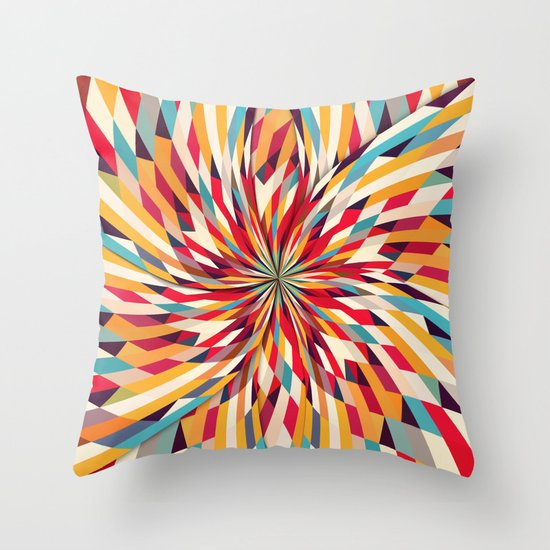In Flower Throw Pillow