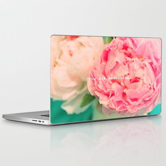 {You are beautiful} Laptop & iPad Skin