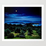 Art Print featuring Night by 2sweet4words Designs