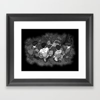 Stand By E.T. - The Other Body Framed Art Print