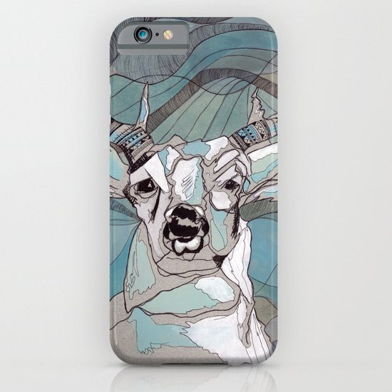 Aqua Deer  iPhone & iPod Case