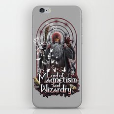 Lord of MAgnetism and Wizardry iPhone & iPod Skin